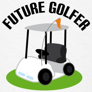 Future Golfer Golf Cart Baby Bodysuits - Men's T-Shirt