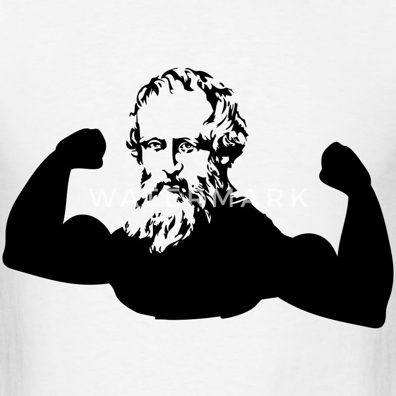 Muscle Archimedes T-Shirts - Men's T-Shirt