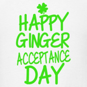 Happy Ginger Acceptance Day - Men's T-Shirt