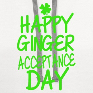 Happy Ginger Acceptance Day - Contrast Hoodie