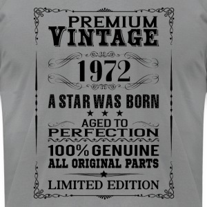 PREMIUM VINTAGE 1972 Long Sleeve Shirts - Men's T-Shirt by American Apparel