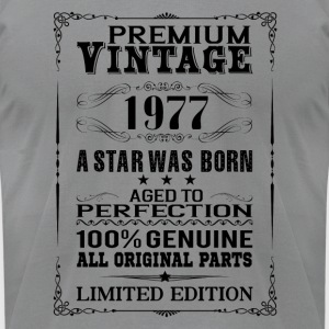 PREMIUM VINTAGE 1977 Long Sleeve Shirts - Men's T-Shirt by American Apparel
