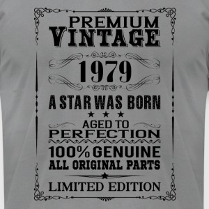 PREMIUM VINTAGE 1979 Long Sleeve Shirts - Men's T-Shirt by American Apparel