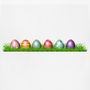 Easter eggs in grass - Adjustable Apron