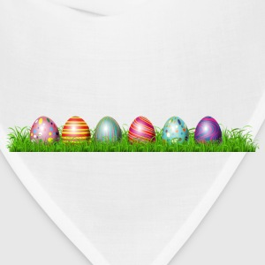 Easter eggs in grass - Bandana