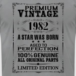 PREMIUM VINTAGE 1982 Long Sleeve Shirts - Men's T-Shirt by American Apparel