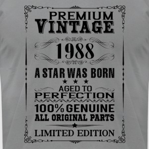 PREMIUM VINTAGE 1988 Long Sleeve Shirts - Men's T-Shirt by American Apparel