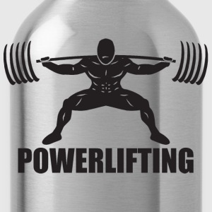 POWERLIFTING T-Shirts - Water Bottle