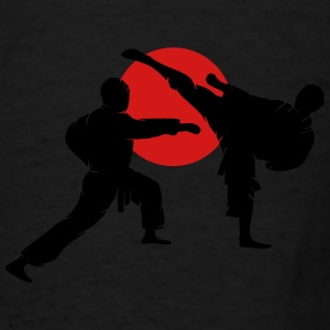 two karate fighter  Hoodies - Men's T-Shirt