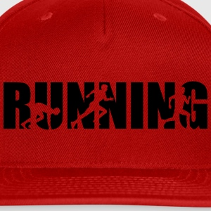 Running Women's T-Shirts - Snap-back Baseball Cap
