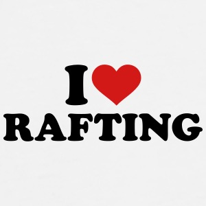 I love rafting Caps - Men's Premium T-Shirt
