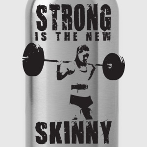 Strong Is The New Skinny Tanks - Water Bottle