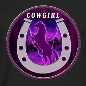 Wild horses and cowgirls - Men's Premium Long Sleeve T-Shirt