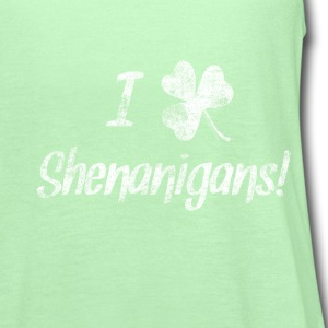 I Love Clover Shenanigans St. Patrick's Day Baby & - Women's Flowy Tank Top by Bella