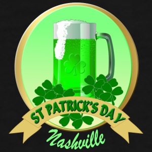 Nashville St Patrick's Day Coffee/Tea Mugs - Men's Premium T-Shirt