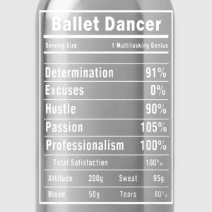 Ballet Dance Shirt - Water Bottle