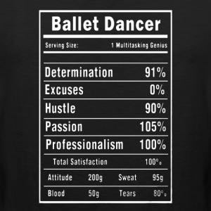 Ballet Dance Shirt - Men's Premium Tank