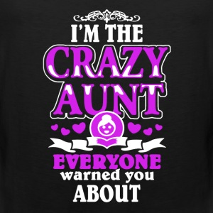 CRAZY AUNT SHIRT - Men's Premium Tank