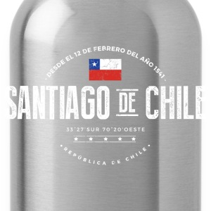 Santiago de Chile Long Sleeve Shirts - Water Bottle