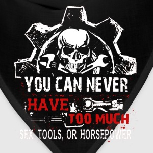 You Can Never Have Too Much Sex Tools  Horsepower - Bandana