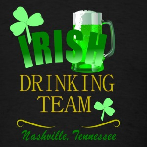 Nashville Irish Drinking Team Dark Bandana - Men's T-Shirt