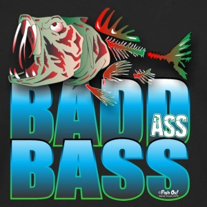 BAD ASS BASS Caps - Men's Premium Long Sleeve T-Shirt