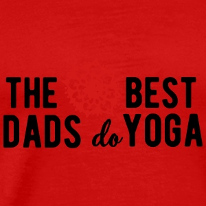 The best dads do yoga Tank Tops - Men's Premium T-Shirt