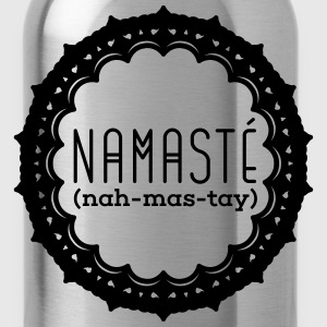 Yoga: Namasté Tank Tops - Water Bottle