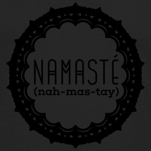 Yoga: Namasté Tank Tops - Men's Premium Long Sleeve T-Shirt
