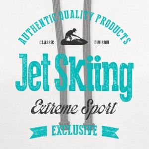 Jet Skiing T-Shirts - Contrast Hoodie
