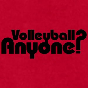 Volleyball Anyone? Mugs & Drinkware - Men's T-Shirt by American Apparel