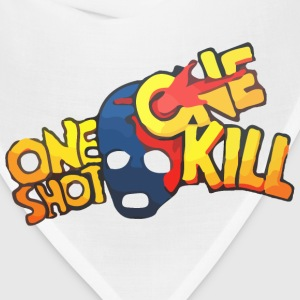One Shot One Kill T-shirt T-Shirts - Bandana