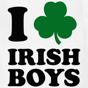 I Love Irish Boys - Adjustable Apron