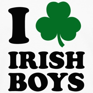 I Love Irish Boys - Men's Premium Long Sleeve T-Shirt