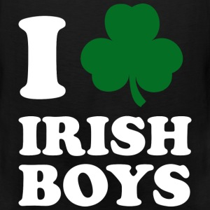I Love Irish Boys - Men's Premium Tank