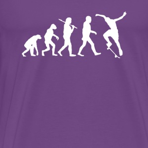 Skaters Evolution Skate T-shirt Tanks - Men's Premium T-Shirt