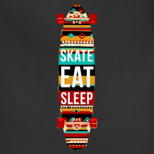 Eat Sleep Skate Repeat Skaters T-shirt Tank Tops - Adjustable Apron