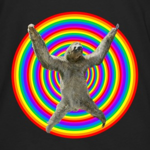 Magic Rainbow Sloth - Men's Premium Long Sleeve T-Shirt