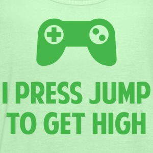 I Press Jump To Get High - Women's Flowy Tank Top by Bella