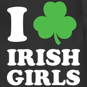 I Love Irish Girls - Adjustable Apron