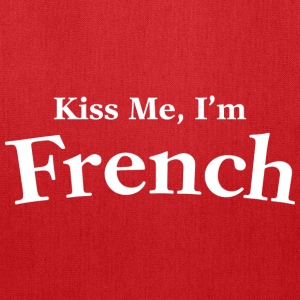 Kiss Me I'm French - Tote Bag