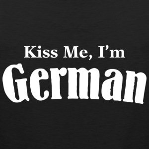 Kiss Me, I'm German - Men's Premium Tank