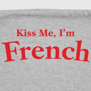 Kiss Me I'm French - Sweatshirt Cinch Bag
