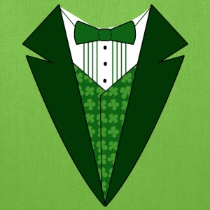 Fancy Formal Tuxedo T-Shirt for St. Patrick's Day - Tote Bag
