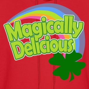 Magically Delicious Rainbow St Patricks Day Womens - Men's Hoodie