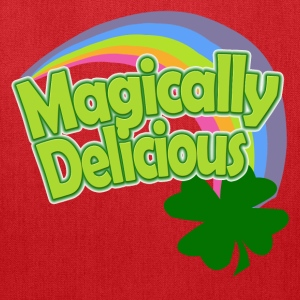 Magically Delicious Rainbow St Patricks Day Womens - Tote Bag