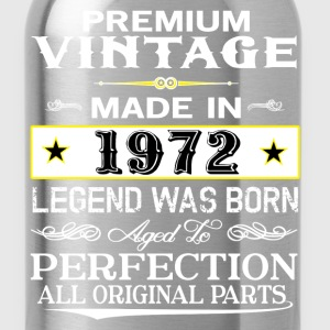 PREMIUM VINTAGE 1972 T-Shirts - Water Bottle