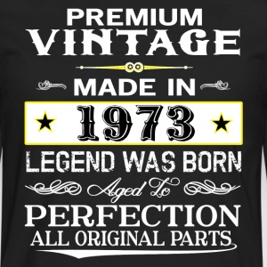 PREMIUM VINTAGE 1973 Hoodies - Men's Premium Long Sleeve T-Shirt