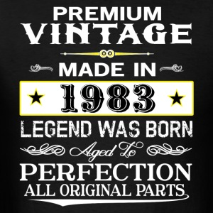 PREMIUM VINTAGE 1983 Hoodies - Men's T-Shirt