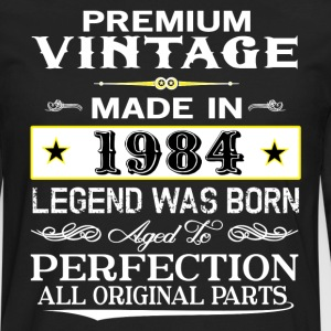 PREMIUM VINTAGE 1984 T-Shirts - Men's Premium Long Sleeve T-Shirt